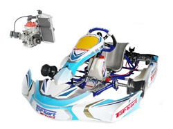 Ensemble Top-Kart Blue Eagle / Cadet Rotax complet