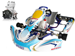 Ensemble Top-Kart Dreamer / IAME X30 Junior complet