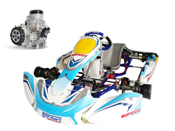 "Ensemble Top-Kart Dreamer KZ / IAME Screamer 3 ""Factory"" complet"